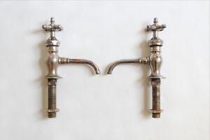 antique faucet bathroom sink | peck bros vtg victorian bathroom plumbing deco
