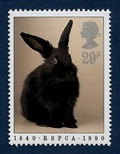 Rabbit illustrated on 1990 Stamp - Unmounted Mint