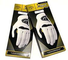 4 Callaway XTREME 365 Golf Gloves L Reg Left Men's Two 2 Packs