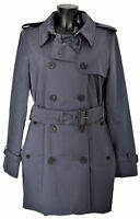 Giubbotto Aquascutum London Franca Sb Giacca Trench Grigio Donna Woman Jacket