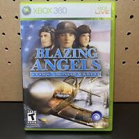 BLAZING ANGELS SQUADRONS OF WWII (MICROSOFT XBOX 360 2006) COMPLETE & TESTED.