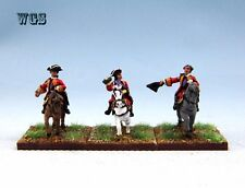 15mm WGS Seven Years War SYW painted British Command and 2 Staff Officers BB3