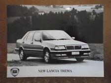 LANCIA THEMA SALOON orig 1990s Press Photo - Brochure related