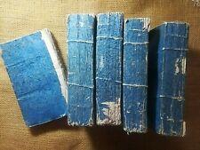 1790 LITTERATURE Voyage du Jeune Anacharsis en Grèce, TOMES 5-6-7-8-9  - 6665