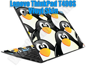Custom Vinyl Skin / Decal Design for the Lenovo ThinkPad T490S -Free US Shipping