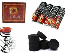 Box of 100 CHARCOAL Coal Tablets for SHISHA hookah SMOKING PIPE Flame Light
