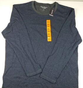 NAUTICA Sleepwear Men's Large Long-Sleeve Pajamas Top Night Shirt Size XXL NWT