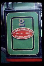 PHOTO  NUMBERPLATE NO 2 LEIGHTON BUZZARD RAILWAY - KERR STUART