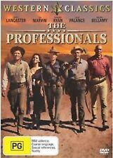 The Professionals - Burt Lancaster  DVD - REGION 4 - GC