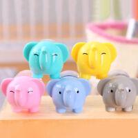 1Pcs Cute Lovely Elephant Pencil Sharpener School Kids Favorite School Office DD