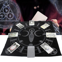 The Zodiac Tarot Cloth Decor Divination Cards Velveteen Square Tapestry NEW