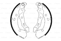 Rear Brake Shoes Kit for RENAULT CLIO Grandtour 1.5 dCi 1.6 16V II 1.2 III