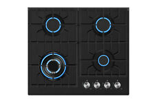 """New listing Empava 24"""" Gas Cooktop Glass 4 Itatly Sabaf Burners Ng Stove Tops Cooker 24Gc902"""