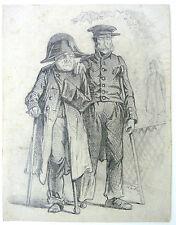 raro! Matita Disegno im Stuoia Fumetto il Napoleone autografato 1867