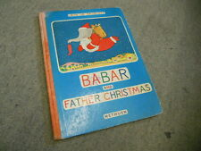 Babar and Father Christmas. by De Brunhoff, Jean