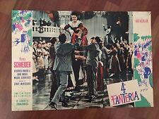 FOTOBUSTA  Der Deutschmeister 4  Fanteria Romy Schneider, Ernst Marischka DANCE