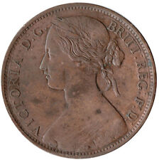 1861 ONE PENNY OF QUEEN VICTORIA /VERY HIGH GRADE       #JAN74