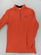 Helly Hansen LIFA ProLite 5000 1/4 Zip Midweight Pullover (Mens Large) Red