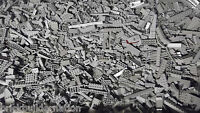 ☀️NEW! 100+ LIGHT GREY GRAY LEGO PIECES FROM HUGE BULK LOT BRICKS PARTS @ RANDOM