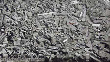 ☀NEW 100+ LIGHT GREY GRAY LEGO PIECES FROM HUGE BULK LOT BRICKS PARTS@  RANDOM