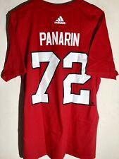 adidas  NHL T-Shirt Chicago Blackhawks Artemi Panarin Red sz S