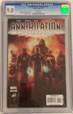 Annihilation: Conquest #6 (2008) CGC 9.8 WHITE - 1st new Guardians of the Galaxy