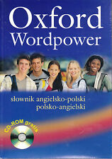 OXFORD WORDPOWER DICTIONARY POLISH-ENGLISH Angielsko-Polski with CD-ROM @NEW