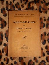 APPRENTISSAGE - Gilbert Charles - Les soirées du Divan 4 - 1923