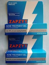 Lot Of Two 2 Zapzyt Acne Wash Cleanser 1 Oz Each Tubes Ebay