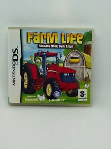 Farm Life Manage Your Own Farm - Nintendo DS - FREE DELIVERY!