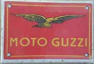 Moto Guzzi Logo fridge magnet  ++ REDUCED TO CLEAR - DAMAGED ++