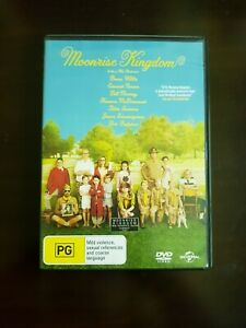Moonrise Kingdom Region 2/4 DVD