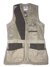 Castellani London Shooting Vest Tan/ Brown Size USA 42/medium