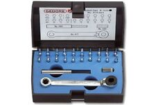 Gedore Minibit-set 23-teilig I 471-023 für Elektroniker Mechaniker Modellbauer