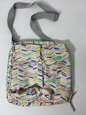 IPACK BABY MINI DIAPER BOTTLE BAG GRAY CARRYING STRAPS PRE-OWNED VG