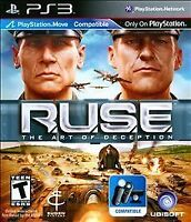 RUSE: Art of Deception (PS3, Playstation 3) Disc Only Tested Fast Free Shipping!