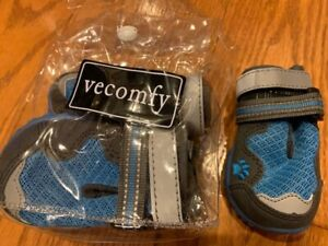 vecomfy Breathable Mesh Dog Shoes for Small Dogs,Summer Hot Pavement Protect Paw