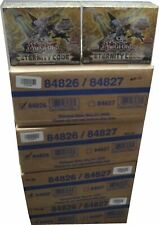 1 Factory Sealed 12 Box Case of Yu-Gi-Oh! Eternity Code 1st Edition YUGIOH NEW