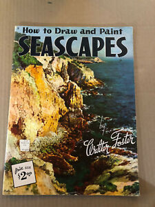 How To Draw and Paint Seascapes by Walter Foster #9 Walter Foster Art Book
