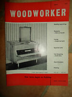 Woodworker May  1962 ~ Retro Vintage Illustrated Magazine + Advertising
