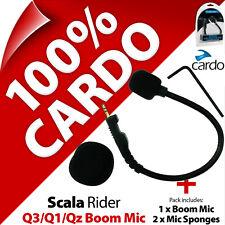 Cardo Scala Rider Boom Microphone Mic Kit Q3 Q1 QZ Motorcycle Helmet Intercom