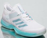adidas Womens Adizero Ubersonic 3 x Parley Blue Spirit Tennis Shoes CG6443