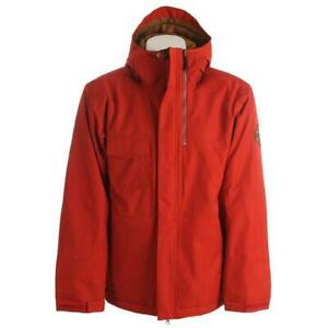 Bonfire Arc Insulated Snowboard Jacket, Men's Large, Torch / Red New