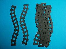 Train track die cut shapes