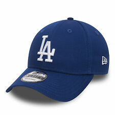 9 DA UOMO NEW ERA FORTY Berretto Da Baseball. Genuine LA Dodgers Blu CURVO Cappello Regolabile 2
