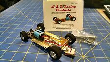 H&R CH08 Hard Body RTR Chassis foam tires 1/24 Slot Car from Mid America Raceway