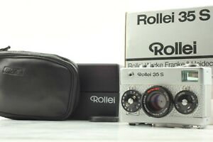 【MINT in Box】 Rollei 35 S Silver 10th Anniversary Compact Film camera JAPAN #172