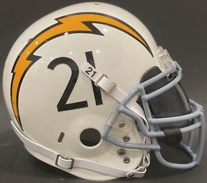 LaDainian Tomlinson San Diego Chargers Game Style Schutt Air Advantage Helmet L