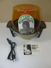 NEW Vintage Hamilton Beach Butter Up Popcorn Maker Joe Namath Model 5000