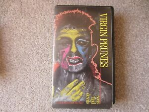 Rare Virgin Prunes Sons Find Devils VHS Tape VGC